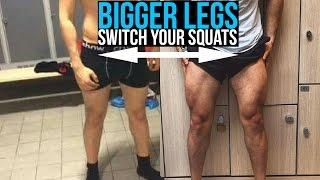 Can't Get Bigger Legs!? Just Do THIS! | Wide Squats vs Close Squats RESULTS!