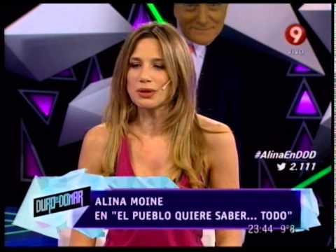 EL PUEBLO QUIERE SABER ALINA MOINE PRIMERA PARTE 27 05 14