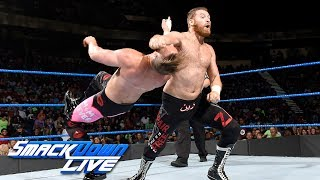 Sami Zayn vs. Mike Kanellis: SmackDown LIVE, July 18, 2017