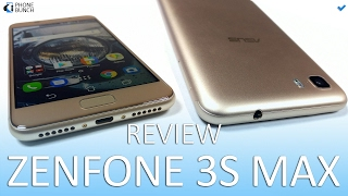 Asus Zenfone 3S Max Review - 5000 mAh Battery, Android Nougat