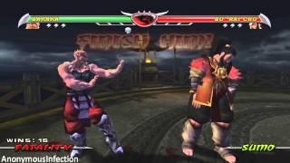 Mortal Kombat: Deception - All Fatalities