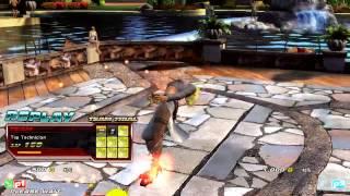 TTT2 Gamecity 140803 페르소나(Zafina,Anna) vs ?(Paul,Beak) Etc