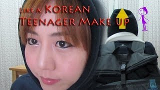 Korea Teenager Make Up Tutorial / Hot Popularity / OOTD   yansdrawing