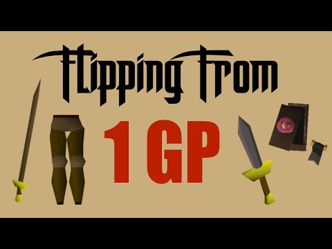 [OSRS] Flipping From 1GP to 1Mil - Oldschool Runescape Flipping Challenge