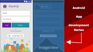 Android app development tutorial #12(Android Registration task-1)