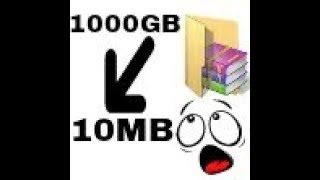 How to Make Highly Compressed File [1000mb to 10MB] With Rar || TECHNICAL JUTT