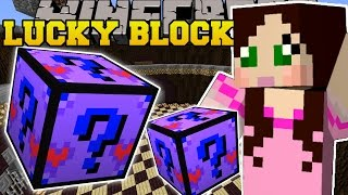 Minecraft: MOST OVERPOWERED LUCKY BLOCK! (THE BEST BLOCK EVER!!) Mod Showcase