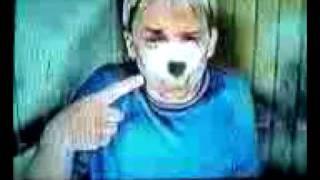 Bo Barron in an extra polar ice gum commercial
