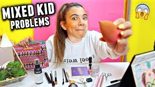 FULL FACE USING ONLY MY MOM'S MAKEUP Challenge!😂 + Filipino mom's reaction