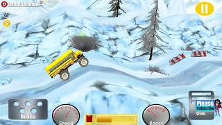 Monster Truck Racing Free / Monster Stunt Car Driver / Android Gameplay Video #2