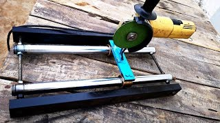 Homemade Angle GRINDER SLIDER