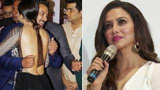 Sana Khan Reacts On Salman Khan Hugging Her Uncomfortably