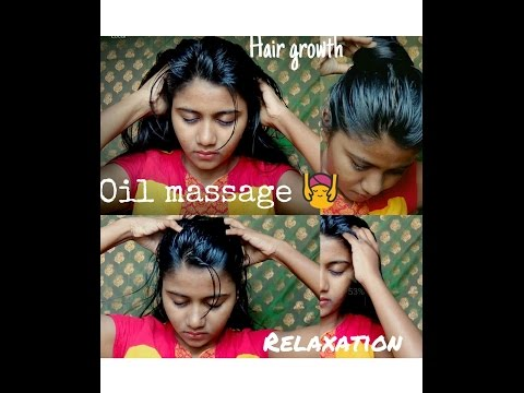 Hot oil treatment for hair and scalp
