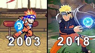 NARUTO GAMES - EVOLUTION ( 2003-2018) All Naruto and Boruto  Games ( Playstation )