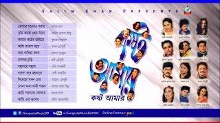 Milu, Kumar Bishowjit, Tapan Chowdhury, Samina, Robi Chowdhury, Doly Sayontoni,- Koshto Amar