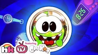 OM NOM STORIES: The Adventures of Time Travel | Funny Animal Cartoons for Children | HooplaKidz TV