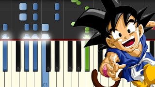 Mi Corazon Encantado / Dragon Ball GT / Piano Tutorial / Synthesia / Notas Musicales