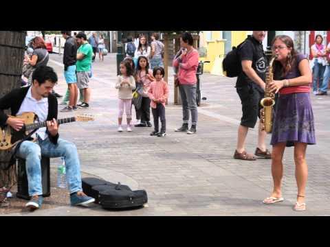 Xxx Mp4 Hit The Road Jack Amazing Saxophonist In Portobello Road 3gp Sex