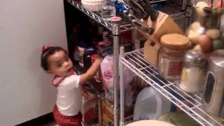 11 month old  Baby argues with mom Funny