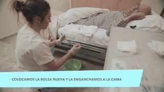 Tutoriales para cuidadores - Cómo limpiar la sonda vesical