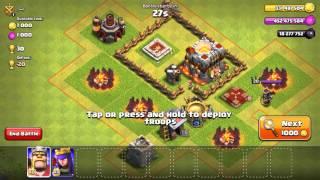 Clash of clan phiên bản full tài nguyên ( sever đang lỗi )