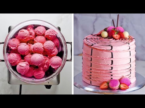 Xxx Mp4 3 Yummy Flavors 3 Clever Hacks One Ultimate Neapolitan Cake By So Yummy 3gp Sex