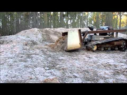 Homemade rc skid steer