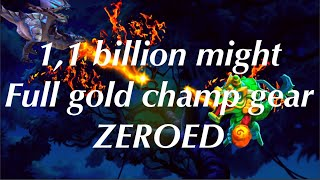 Lords-Mobile | 1,1 BILLION MIGHT FULL GOLD CHAMP ZEROED!