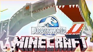 Minecraft 1.8 Jurassic World 2.0 Mod INDOMINUS REX VS T-REX!