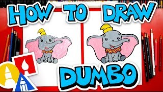 How To Draw Dumbo