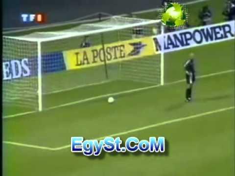 Free Kick Goal vs France 1997 الضربة الحرة الاسطورية من روبرتو كارلوس امام فرنسا