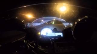 BMW S1000RR First Night Run of 2015 part 2 of 2