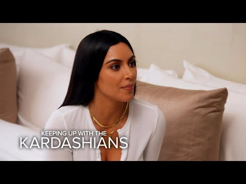 KUWTK Kim Kardashian West Can t Trust Anyone After Paris Robbery E