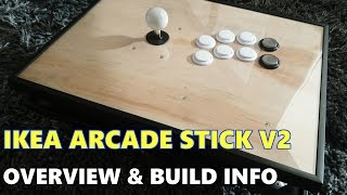 Ikea Arcade Stick V2: Overview