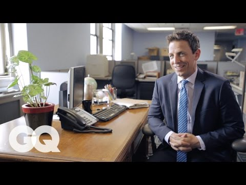 Seth Meyers on his first job as a sandwich delivery guy & naming his car Le Seth GQ