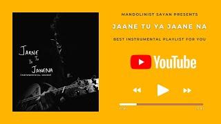 Tera Mujhse Hai Pehle Ka Naata Koi ( Jaane Tu Ya Jaane Na ) - Instrumental Cover YouTube Music Video