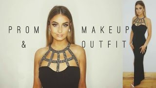 Get Ready With Me: Prom/Debs Makeup & Dress 2016 | Aoife Conway 💛