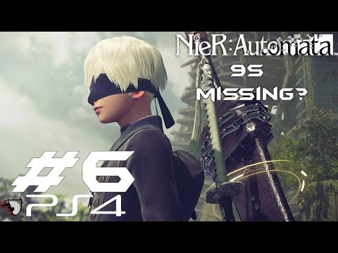 NieR: Automata Gameplay, Walkthrough - Searching 9S, 9S Location Guide (PS4) - Part 6 by Venaticy