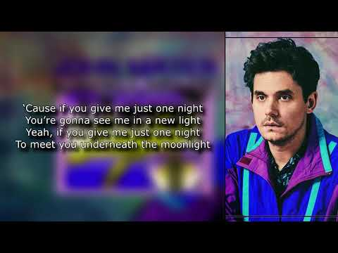Download John Mayer - New Light Lyrics free