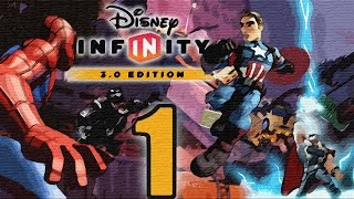 Disney Infinity 3.0: Marvel Battlegrounds Walkthrough HD - Intro - Part 1 [No Commentary]