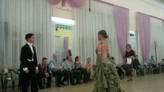 Final Ballroom dance, Tulasi Anil Raj, Moscow 2009