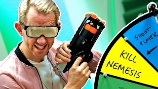 NERF Roulette Challenge!