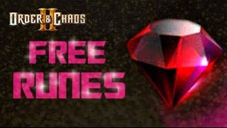 Order and Chaos 2: Redemption - Free RUNES - Everyday Im shoveling!