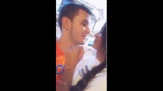 Primer beso grabado