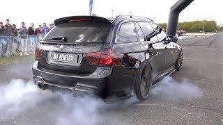 900HP BMW 335i (E91) - CRAZY REVS & BURNOUT!