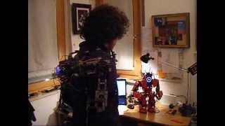 Robot exoskeleton remote control