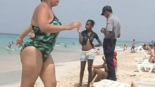 La Policia en Santa Maria La habana Cuba