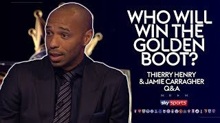 Kane, Morata, Aguero or Lukaku for the Golden Boot? | Thierry Henry & Jamie Carragher Q&A | MNF