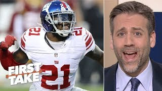 Giants are making a mistake by letting Landon Collins hit free agency - Max Kellerman | First Take