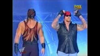 The Undertaker and Kane save Lita